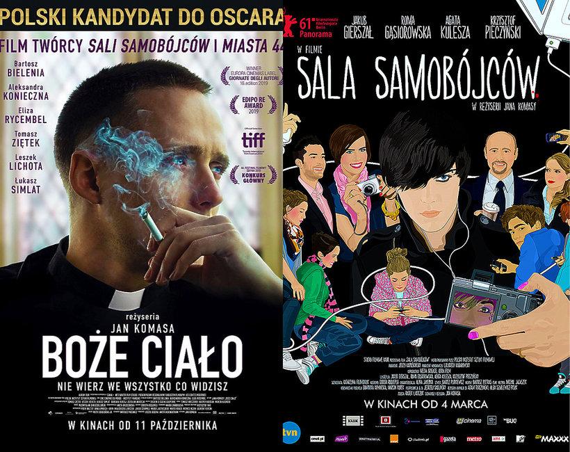 Filmy Jana Komasy