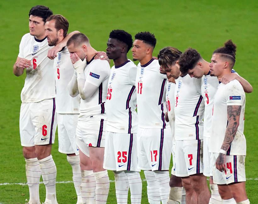 Finał EURO 2020, Anglia ściąga srebrne medale