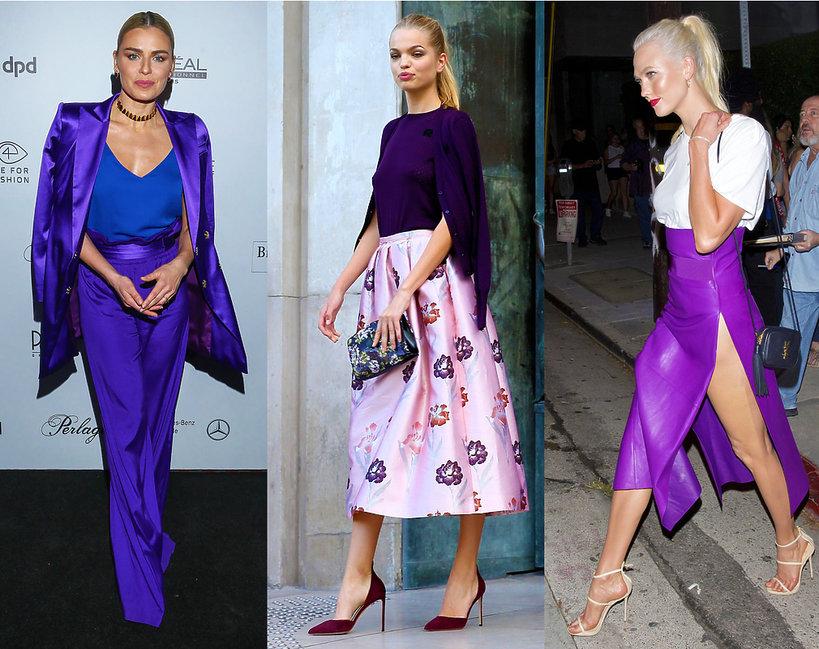 59d2bfbd677a0 Fioletowe ubrania. Z czym zestawiać fiolet? | Viva.pl