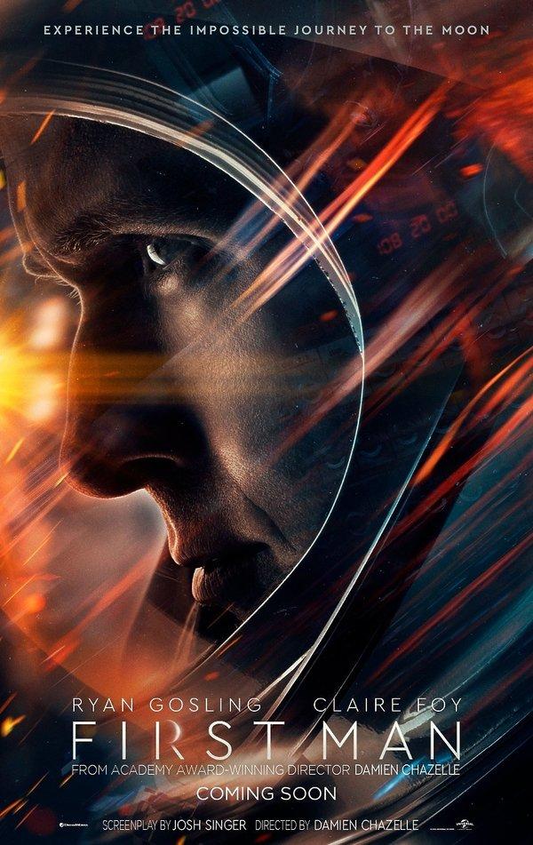 First Man, Pierwszy człowiek, Ryan Gosling