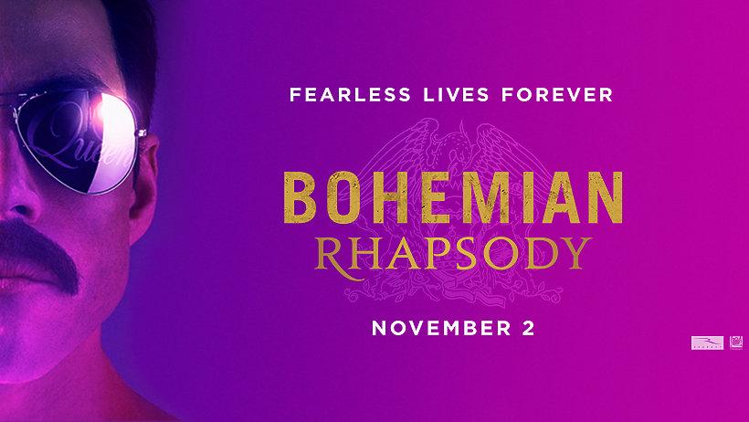 Freddie Mercury, film Bohemian Rhapsody