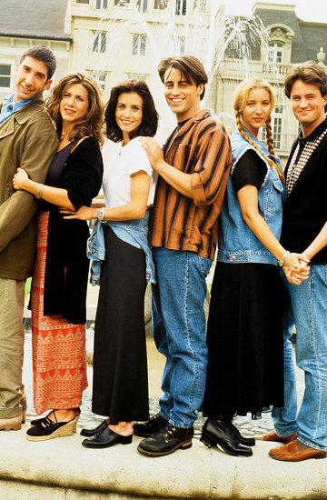 Friends, David Schwimmer, Jennifer Aniston, Courteney Cox, Matt LeBlanc, Lisa Kudrow, Matthew Perry