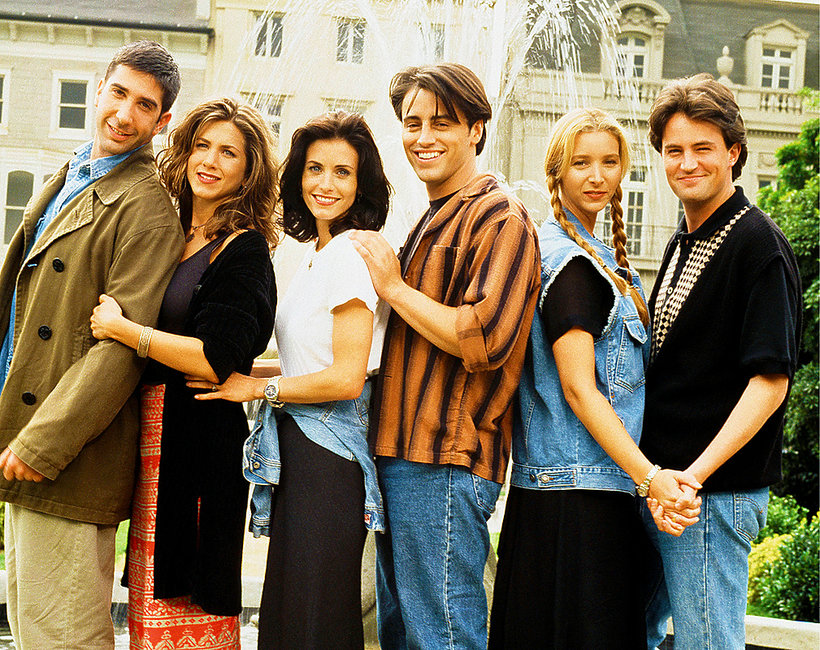 Friends, David Schwimmer, Jennifer Aniston, Courteney Cox, Matt LeBlanc, Lisa Kudrow, Matthew Perry