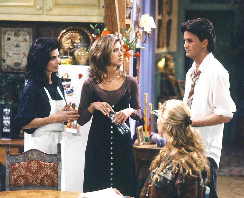 Friends, styl, Friends, styl,  Jennifer Aniston, Courteney Cox, Lisa Kudrow, Matthew Perry