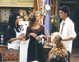 Friends, styl, Friends, styl,  Jennifer Aniston, Courteney Cox, Lisa Kudrow, Matthew Perry