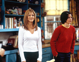 Friends, styl, Jennifer Aniston, Courteney Cox
