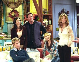 Friends, styl, Jennifer Aniston, Courteney Cox, Brad Pitt, Lisa Kudrow, Matthew Perry