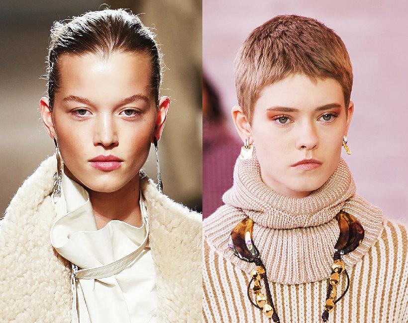 fryzury trendy jesień 2019/2020 Paris Fashion Week