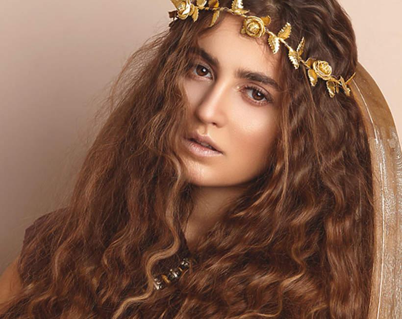 fryzury w stylu boho wiosna 2021