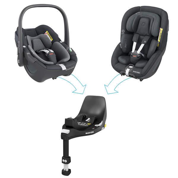 Funkcjonalności fotelików Maxi-Cosi Rodzina 360