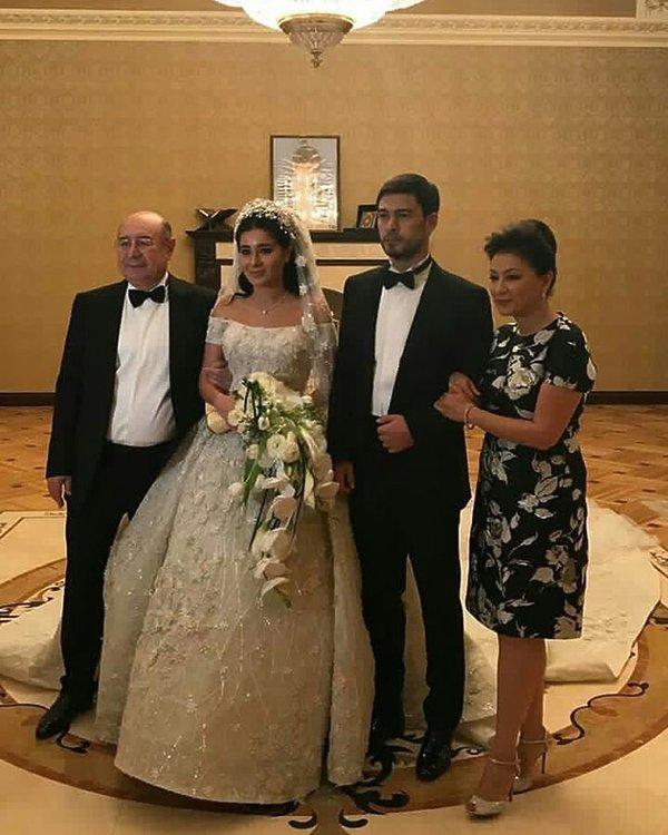 Ganya Usman (Ганя Усманова), ślub rosyjskiej miliarderki