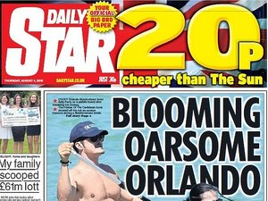 gazeta z nagimi zdjęciami Orlando Blooma
