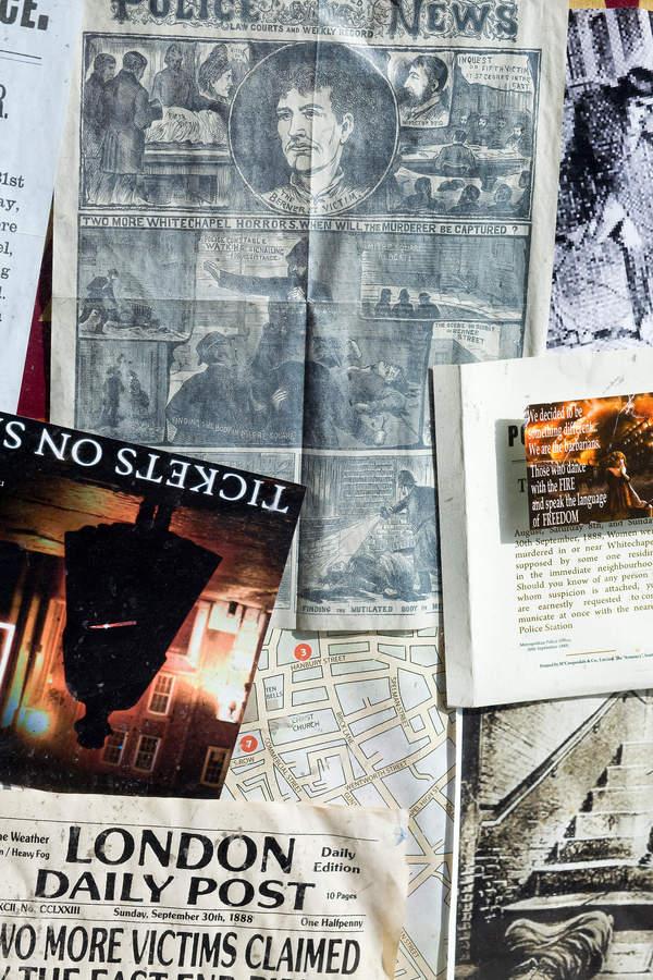 Gazeta z opisem zbrodni Kuby Rozpruwacza