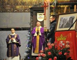 Gdansk Kosciol Mariacki w Gdansku Msza za dusze zabitego prezydenta Pawła Adamowicza