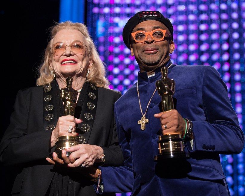 Gena Rowlands i Spike Lee z honorowymi Oscarami