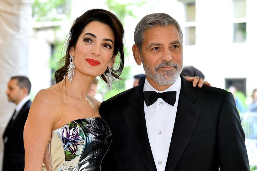 George Clooney, Amal Clooney portret