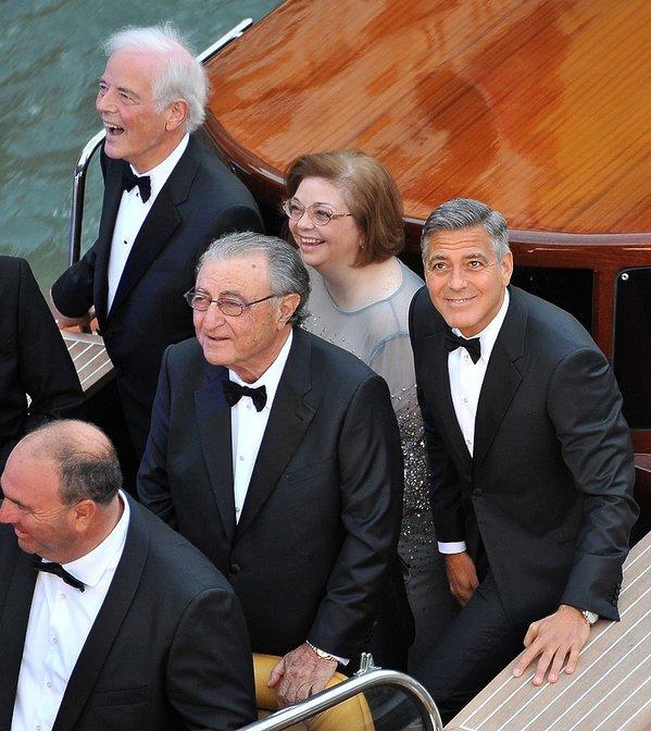 George Clooney i Adelia Zeidler