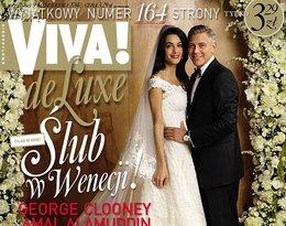 George Clooney i Amal Amaluddin na okładce Vivy!