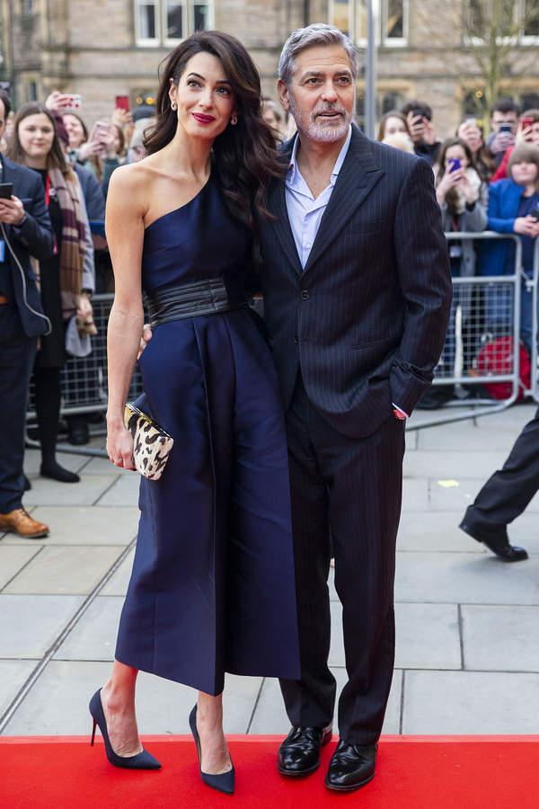 George Clooney z żoną
