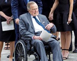 George H. W. Bush trafił do szpitala dzień po pogrzebie żony
