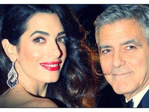George i Amal Clooney Cezary 2017
