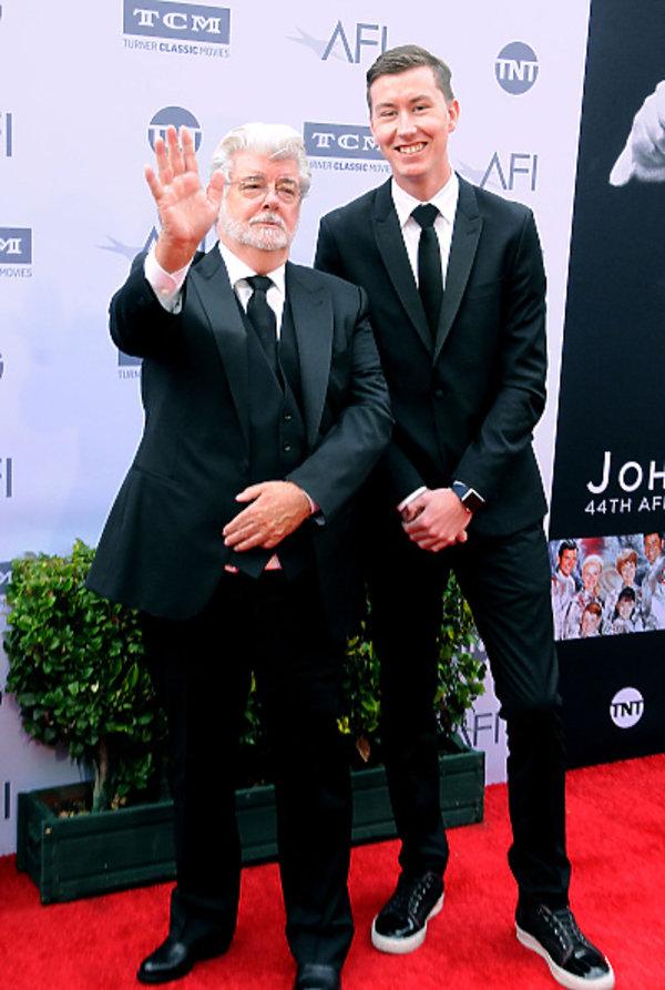 George Lucas z synem