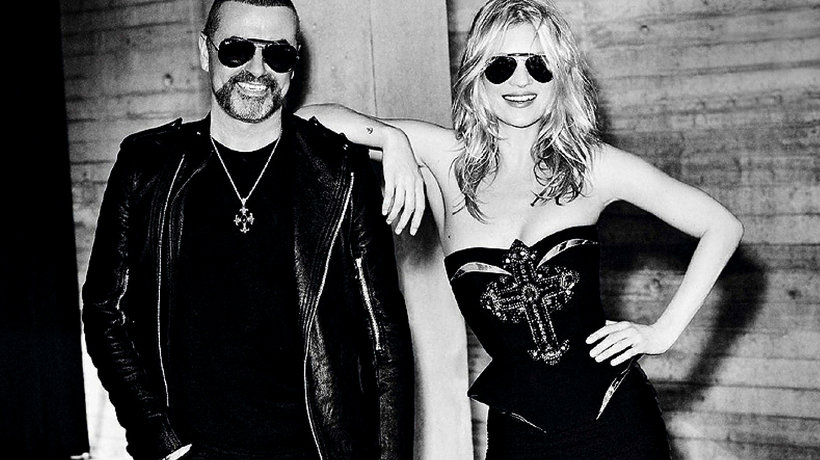 George Michael i Kate Moss MT