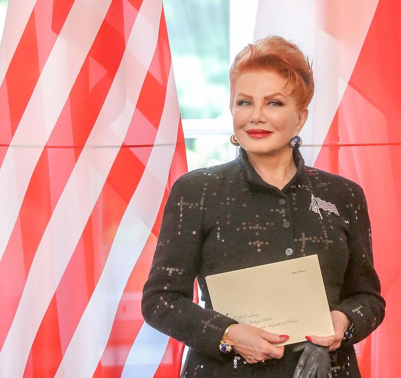 Georgette Mosbacher, ambasador USA w Polsce