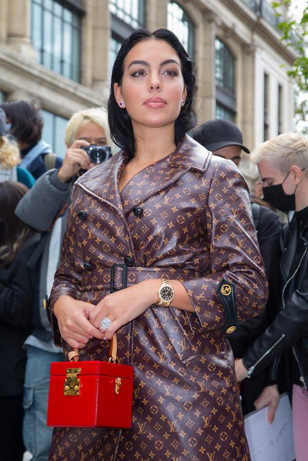 Georgina Rodriguez-Paris-Fashion-Week