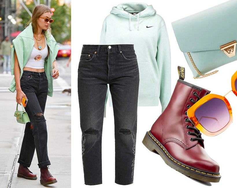 get the look, w stylu gwiazd, Gigi Hadid