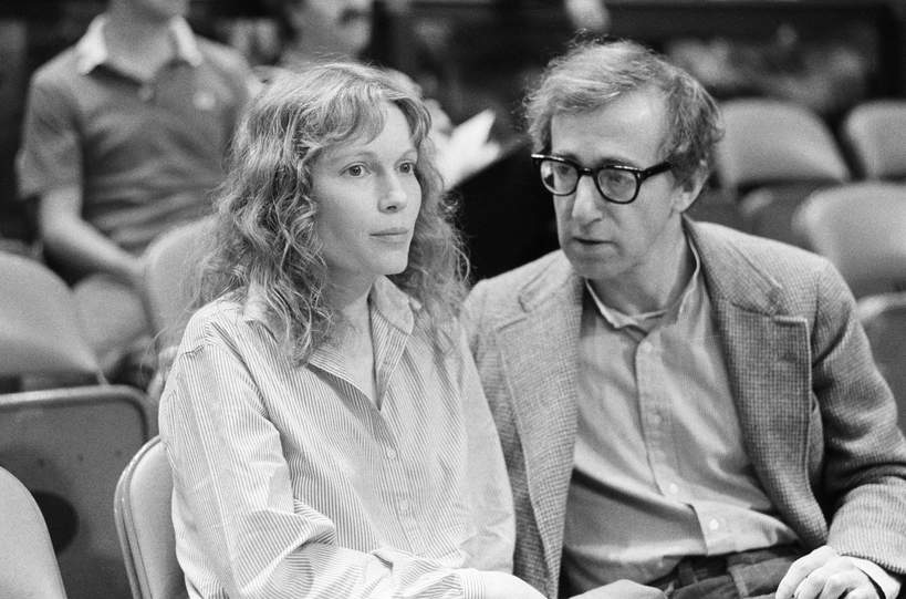 GettyImages-515578070, Mia Farrow, Woody Allen