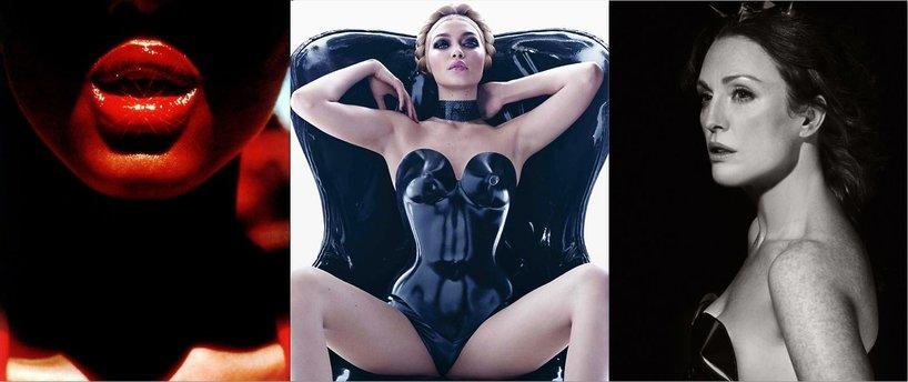 Gigi Hadid, Julianne Moore