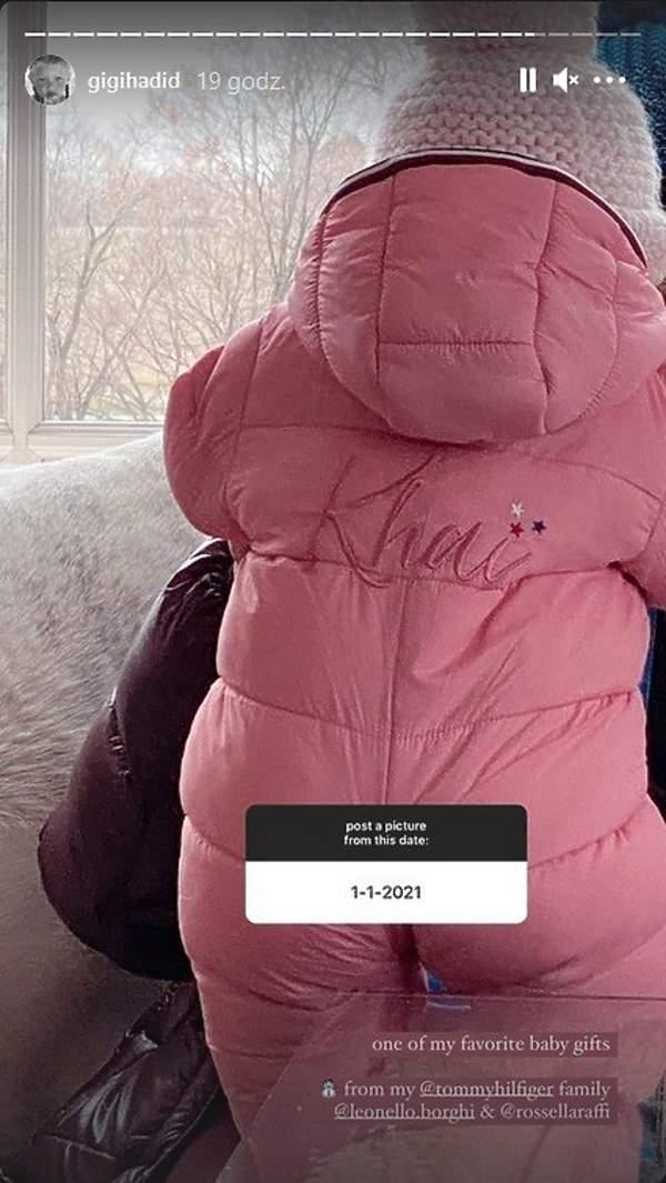 Gigi Hadid pokazała pokój córki Khai