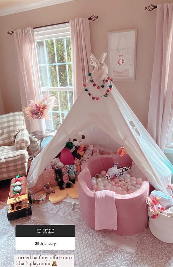 Gigi Hadid pokój córki
