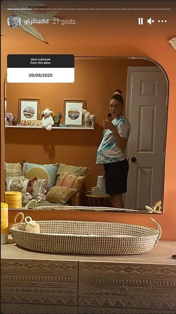 Gigi Hadid pokój córki Khai