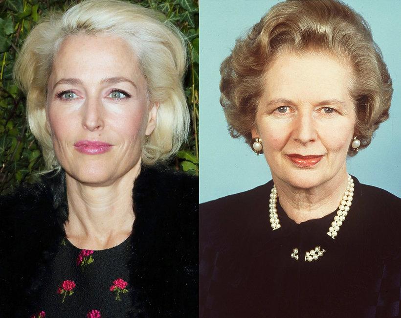 Gillian Anderson jako Margaret Thatcher