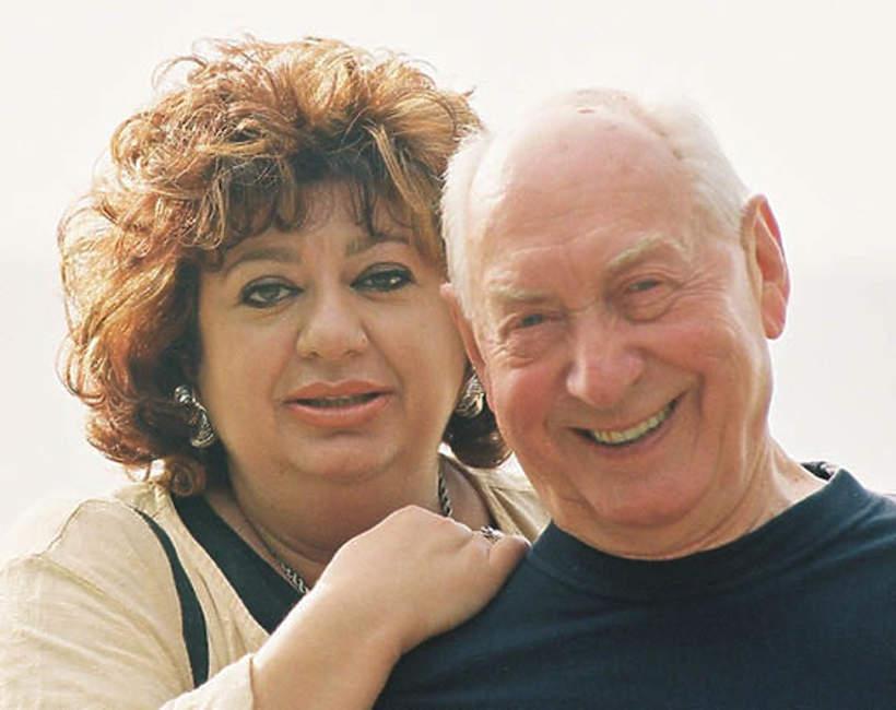 Gołda Tencer i Szymon Szurmiej