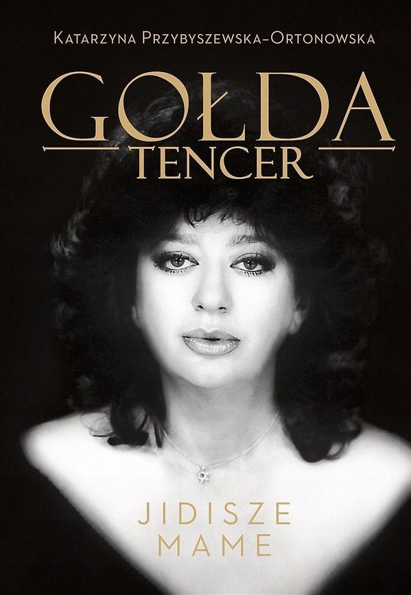Gołda Tencer, książka, okładka
