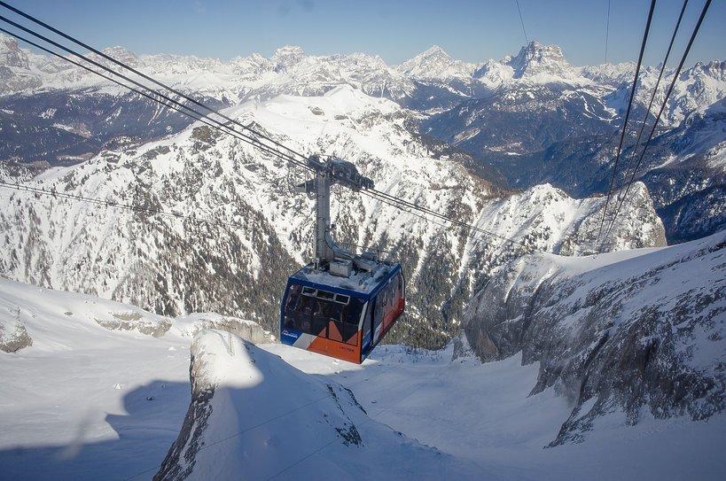 góry, Alpy, kolejka w górach