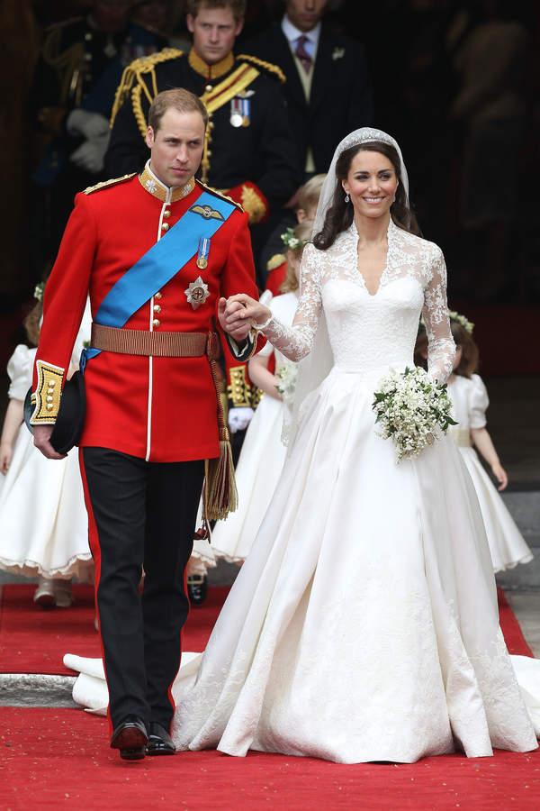 Goście na ślubie Kate i Williama. Dlaczego nie było Sarah Ferguson?