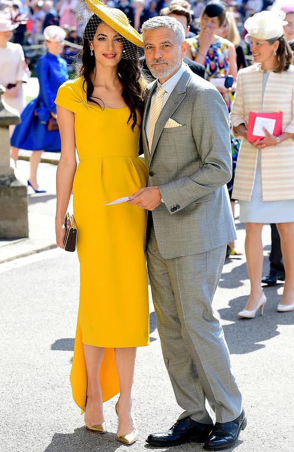 Goście na ślubie księcia Harry'ego i Meghan Markle: Amal Clooney i George Clooney