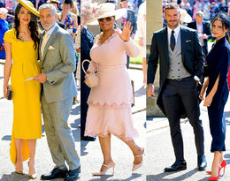 Zobacz, kto przybyłna ślub Meghan Markle i księciaHarry'ego!