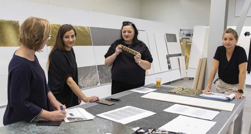 Gosia Baczyńska i zespół Ceramiki Paradyż w Paradyż Design Lab