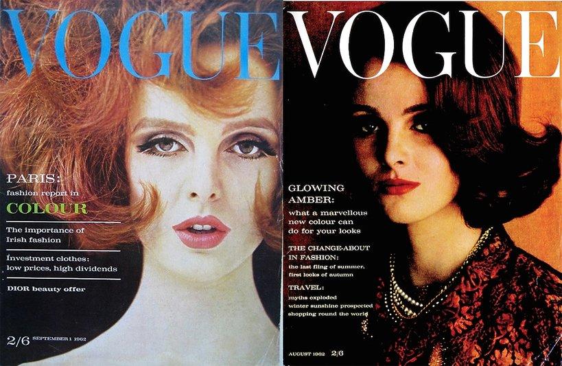 Grace Coddington jako modelka