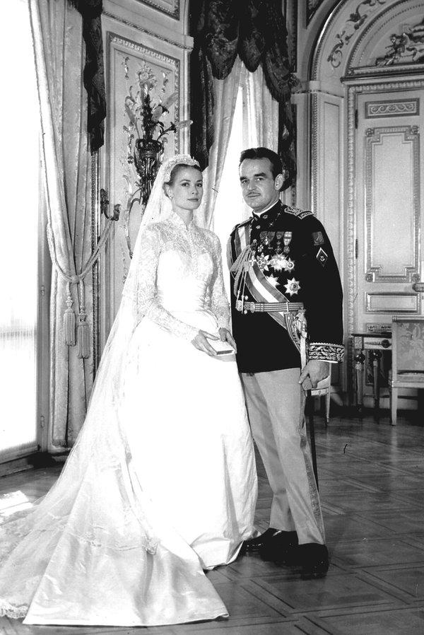 Grace Kelly i książę Rainer Grimaldi, ślub