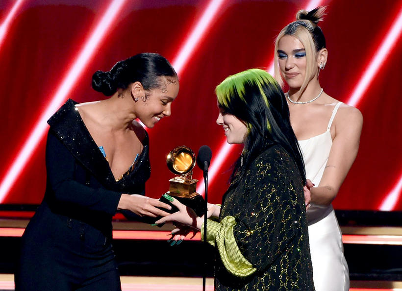 Grammy 2020, Alicia Keys, Billie Eilish, Dua Lipa