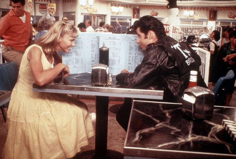 Grease: John Travolta, Olivia Newton-John
