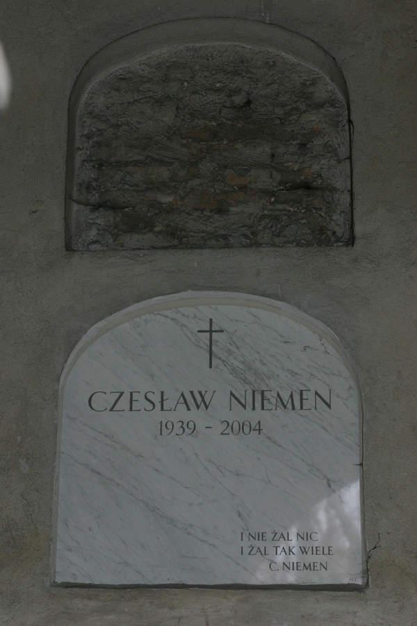 Grób Czesława Niemena, Powązki