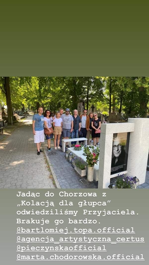 grób Piotra Machalicy