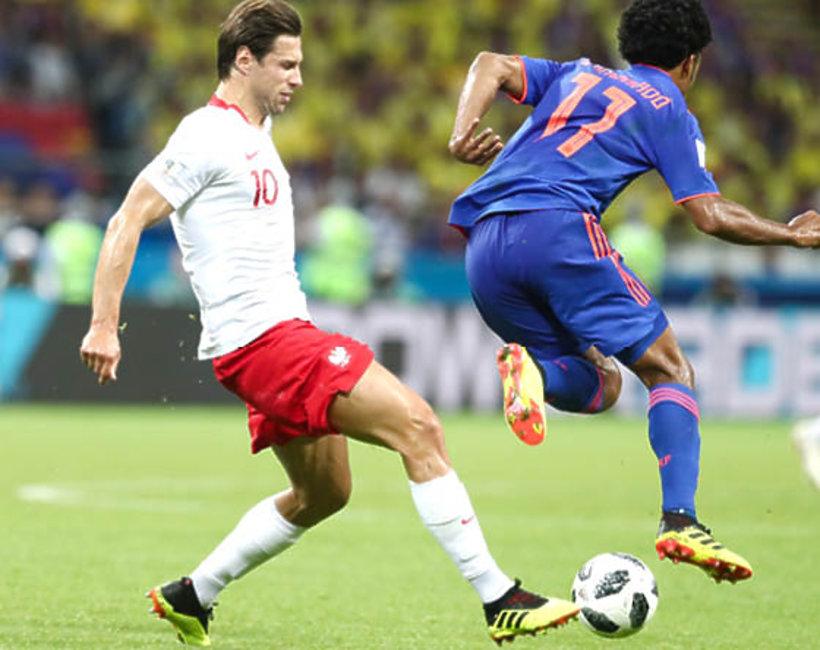 Grzegorz Krychowiak, mecz Polska - Kolumbia